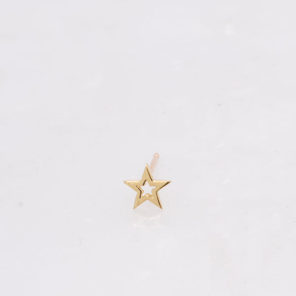 Open Star Stud