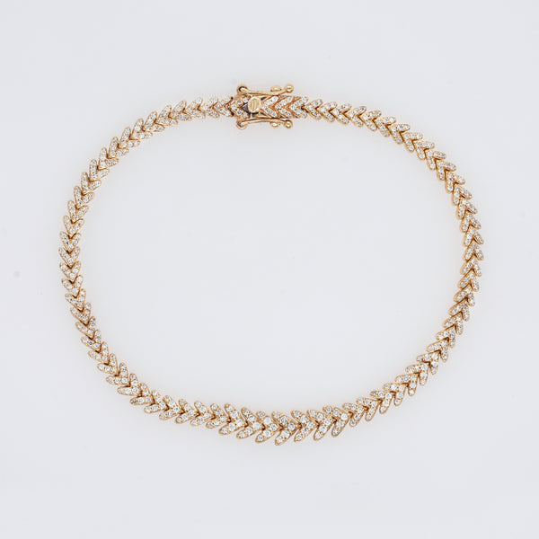 Laurel Diamond Bracelet