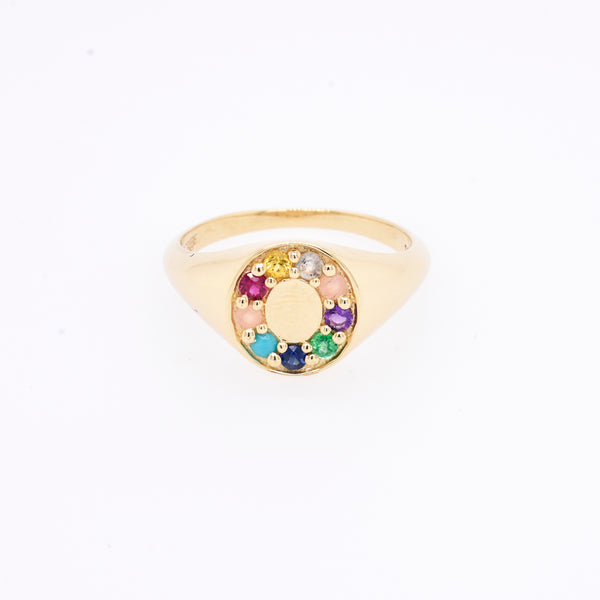 """Love Story"" Signet Ring"