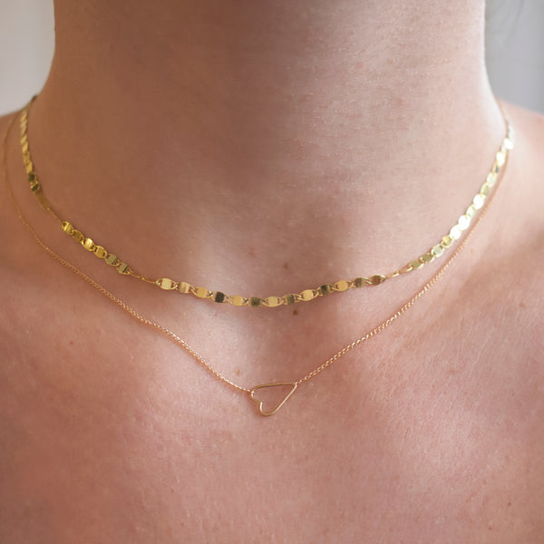 Petite Sweetheart Necklace