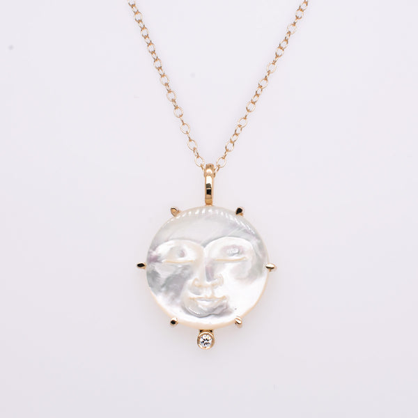 Lunar Dreams Mother of Pearl Necklace