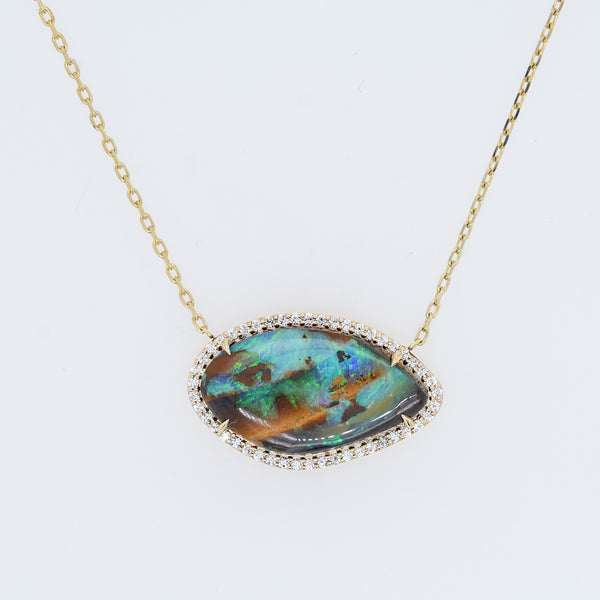 Boulder Opal Collette Necklace