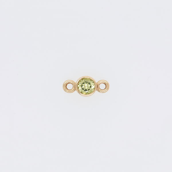 Peridot Peace (August) Endless Bracelet Charm