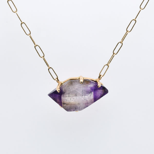 Seven Mineral Stone Necklace