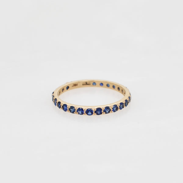 Rose Gold & Sapphire Stack Ring