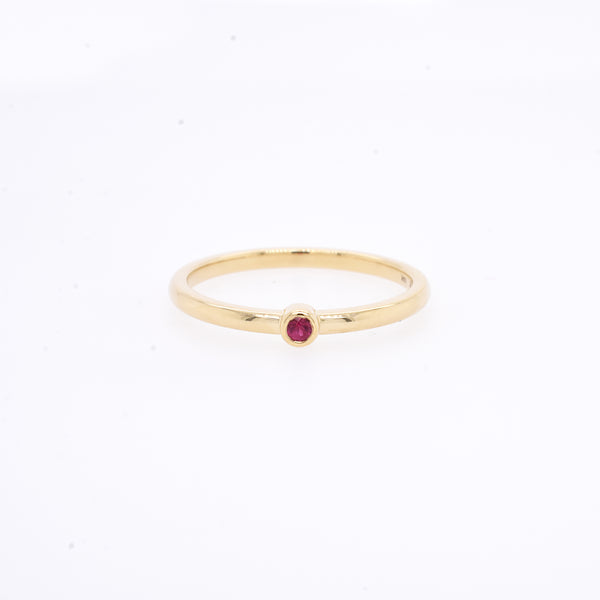Birthstone Stack Ring