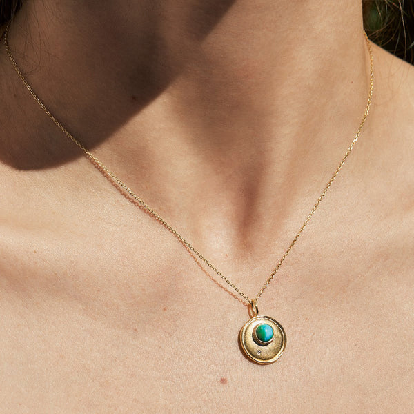 Turquoise Shadow Necklace