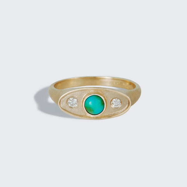 Gemstone Shadow Ring