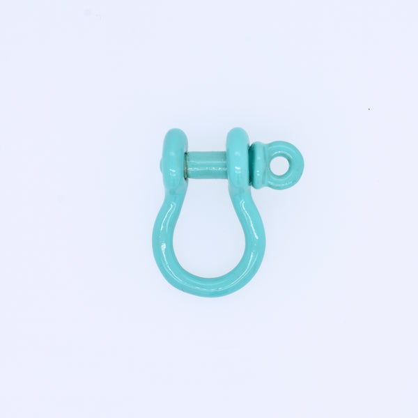 Small Enamel Lock Charm
