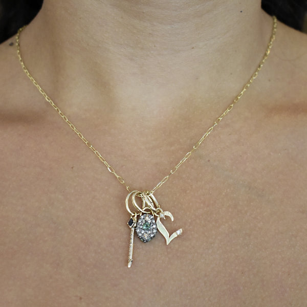 Coat of Arms Charm Necklace