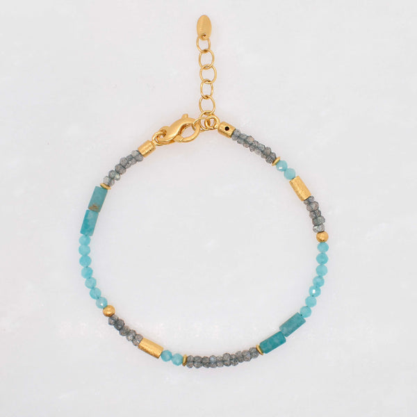 Petite Beaded Gemstone Bracelet