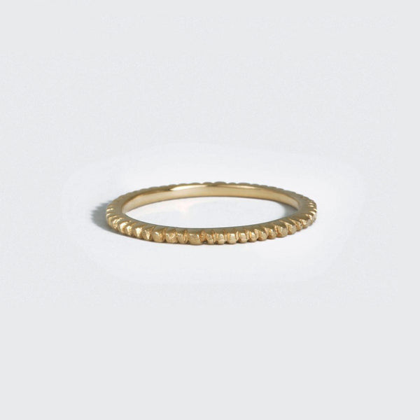 Petite Gold Soleil Stack Ring