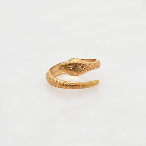 Serpent Wrap Ring