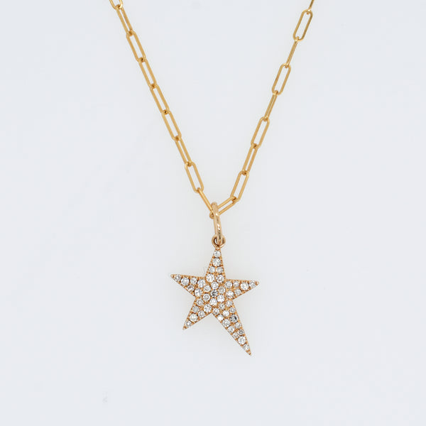 Pavé Diamond Starlight Necklace