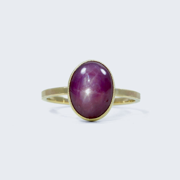 Star Ruby Statement Ring