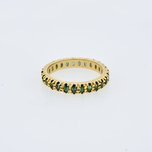 Marquise Tourmaline Eternity Band