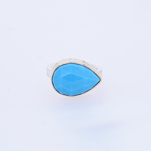Sleeping Beauty Turquoise Statement Ring