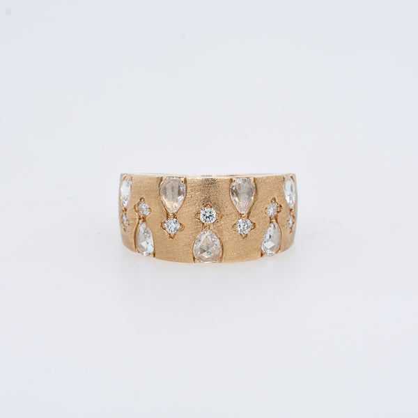 Starlet Tapered Diamond Ring