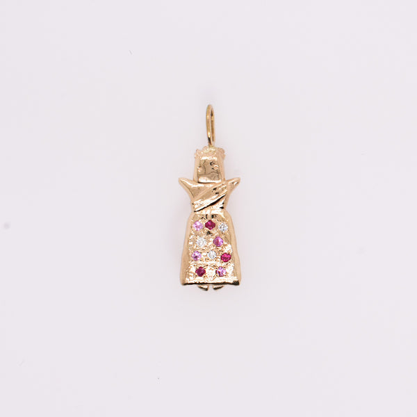 Good Luck Worry Doll Charm