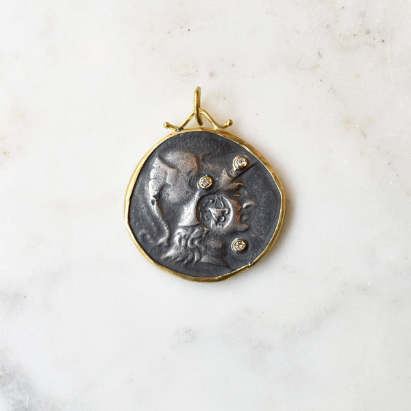 Athena Medallion