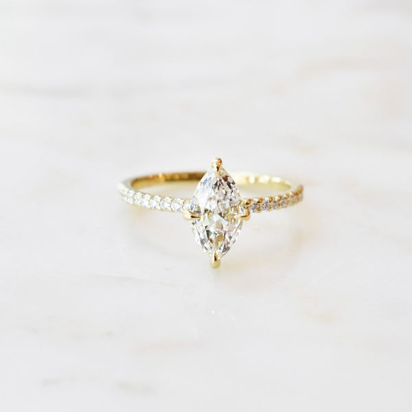 Lisette Engagement Ring Setting