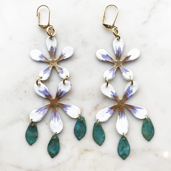 Blossom Fringed Earrings