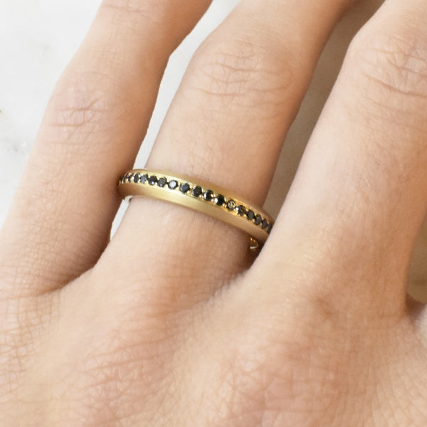 Black Diamond Eternity Fortune Band