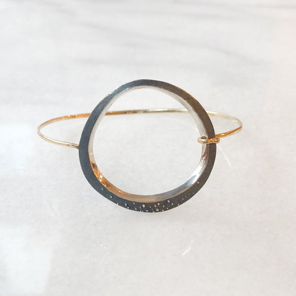 Large Freeform Bangle