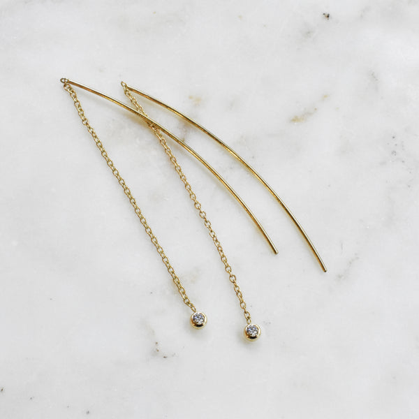 Diamond Dangle Threaders