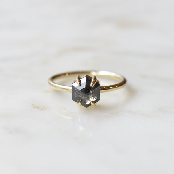 Salt and Pepper Jane Ring