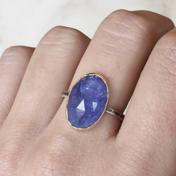 Tanzanite Statement Ring
