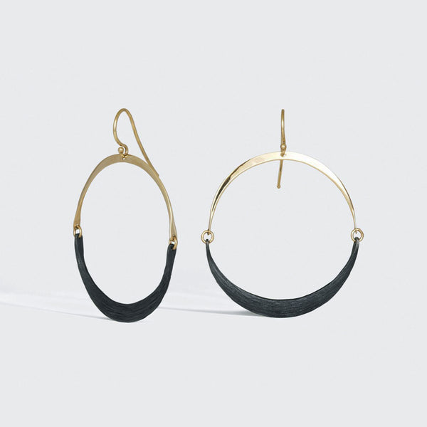 Isla Wish Hoop Earrings