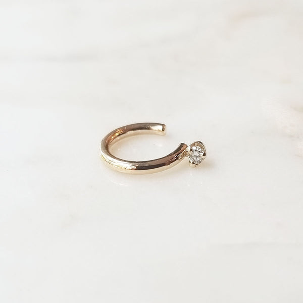 Essential Ear Cuff with Diamond