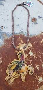Rodeo Wild & Western Necklace