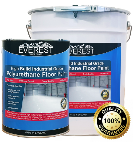 Industrial Floor Paint - Polyurethane Floor Paint - Everest Trade Paints