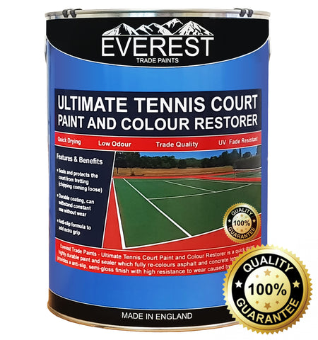 Ultimate Tennis Court Paint - Tennis court restorer - Everest Trade Paints