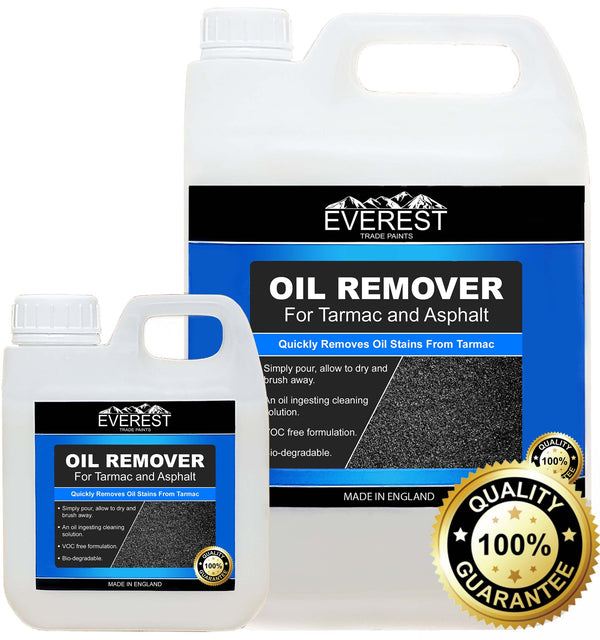 Everest Trade - Oil Stain Remover for Tarmac and Asphalt (Available in 1 & 5 Litre Sizes) - PremiumPaints