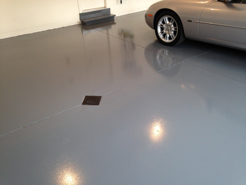Everest Trade - High Build Polyurethane (PU) Resin Based Garage Floor Paint - Anti-Slip