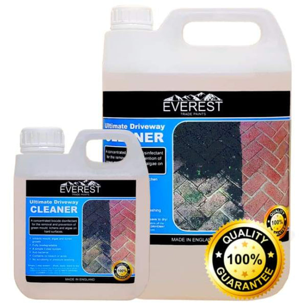 Everest Trade - Ultimate Driveway Cleaner for Driveways and Patios (Available in 1 & 5 Litres) - PremiumPaints