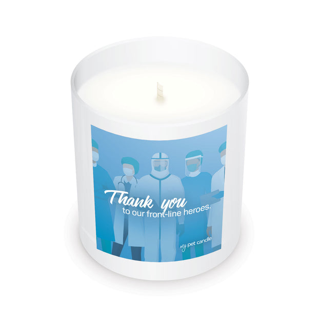 Thank You to Our Front-Line Heroes - 11oz Candle