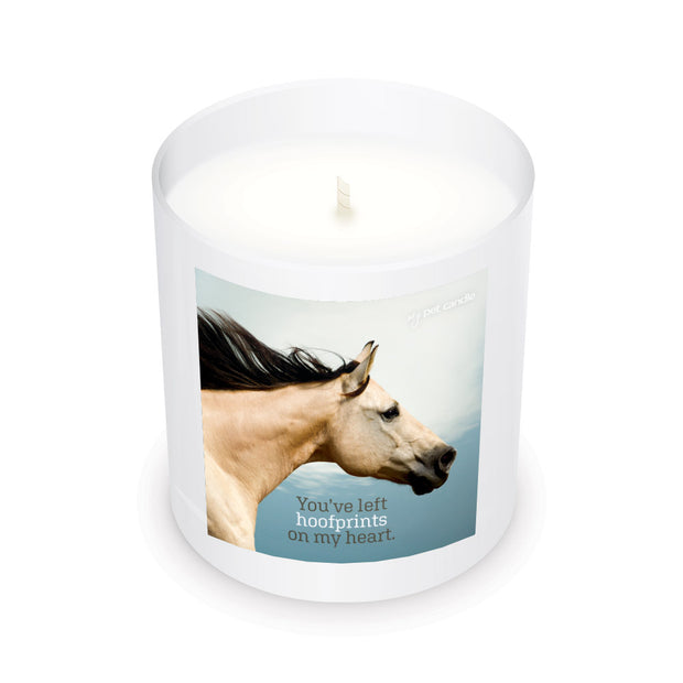 Hoofprints on My Heart – 11oz Candle