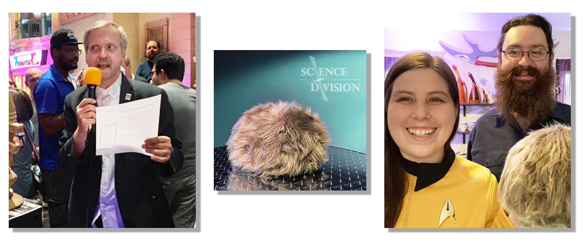 """Tribble talk and Trivia hosted by Science Division and """"Dr Trek"""" Larry Nemecek on Friday, October 9th at 8pm ET"""
