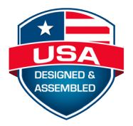 USA - Designed & Assembled