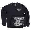 """Burn Out"" Crew Neck Sweatshirt"