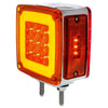 "Square Double Face ""GLO Light"" LED Turn Signal"