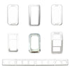 Kaper II Freightliner Stainless Steel Switch Covers - Engraved