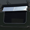 "Roadworks Peterbilt Rear Window Visor - 37"" x 20"""