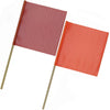 Safety Flag with Wooden Staff