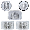 "United Pacific ""Crystal"" Head Lights (various sizes)"