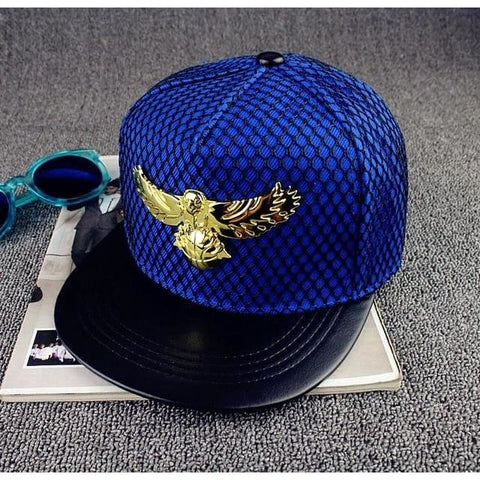 Brand Eagles metal Europe Casual Bone Hip Hop Snapback Baseball Cap